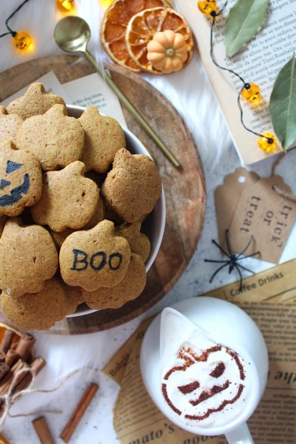 Cereali mini biscotti alla zucca pumpkin spice