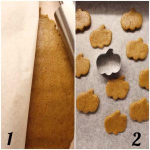 procedimento dei Cereali mini biscotti alla zucca pumpkin spice senza uova senza burro