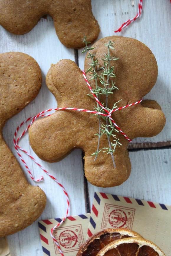 gingerbread alla zucca senza glutine vegani