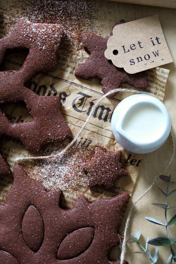 Fiocchi di neve al cacao