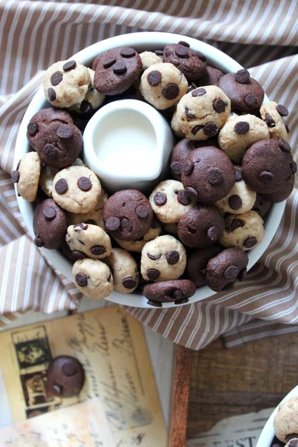 Cereali cookies bigusto con purea di nocciole vegani fatti in casa