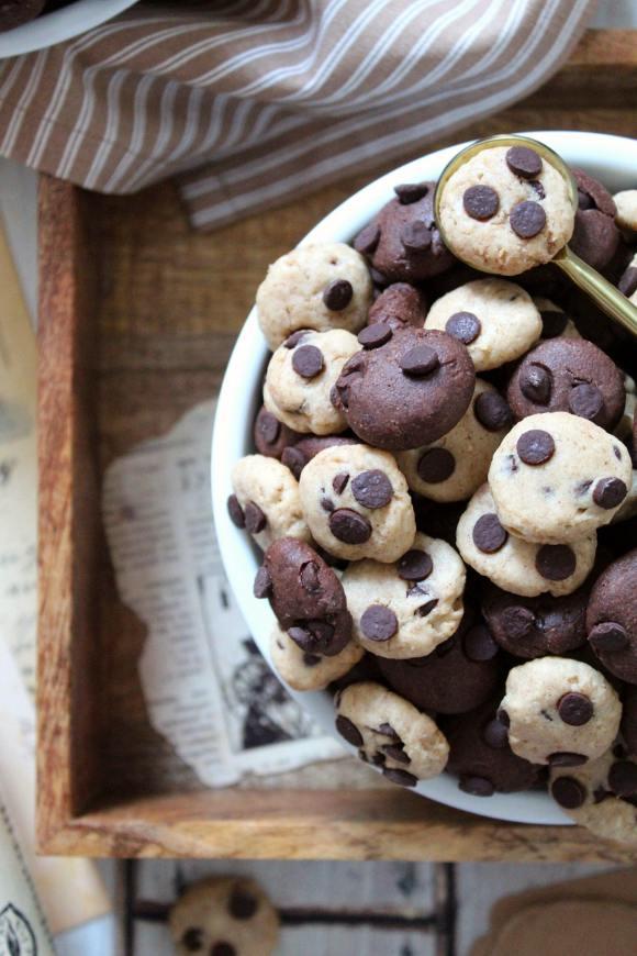 Cereali cookies bigusto con purea di nocciole vegan