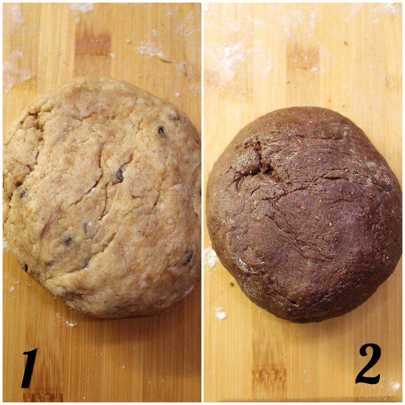 Cereali tipo cookies bigusto con purea di nocciole vegan homemade preparazione