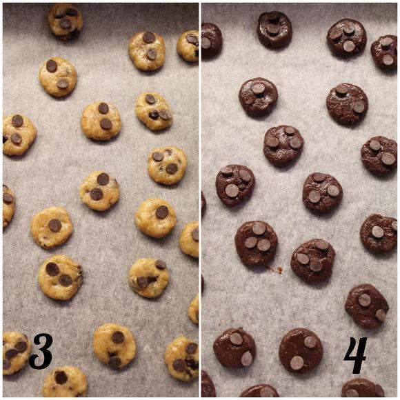 preparazione dei Cereali tipo cookies bigusto con purea di nocciole vegan homemade