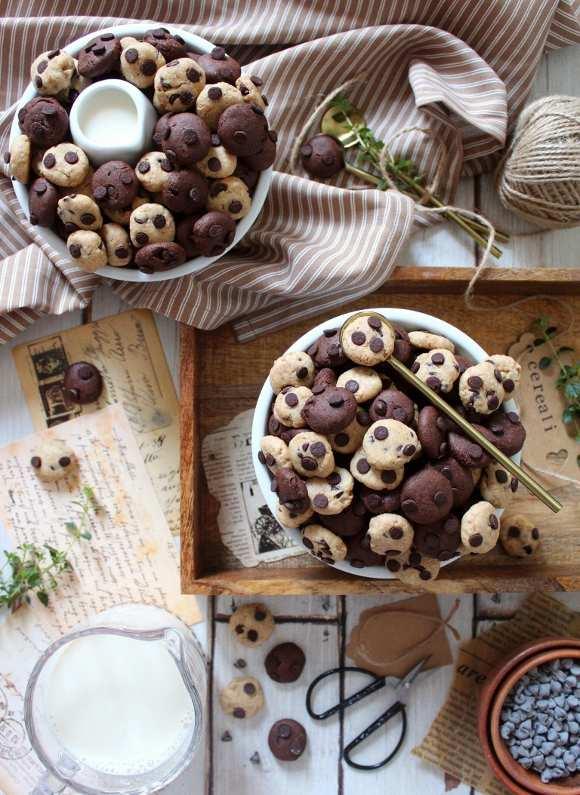 Cereali tipo cookies bigusto con purea di nocciole vegan homemade
