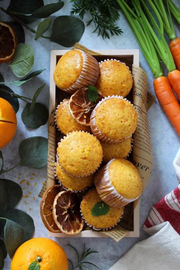 Muffin carote e arancia