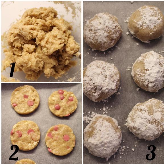 Scatola di biscotti (cookie box) di San Valentino procedimento