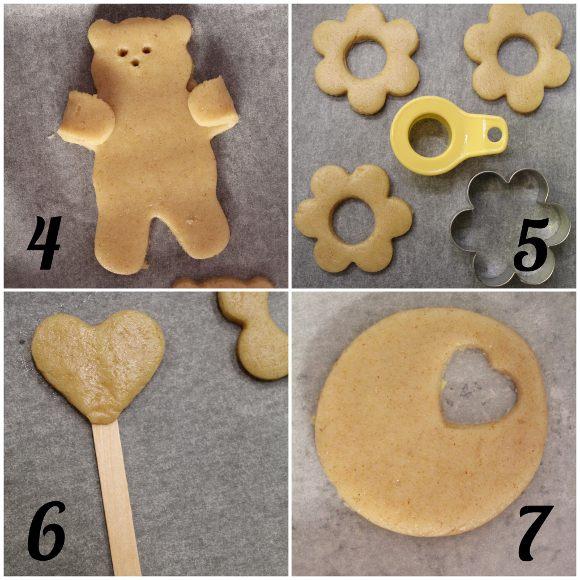 preparazione della Scatola di biscotti (cookie box) di San Valentino