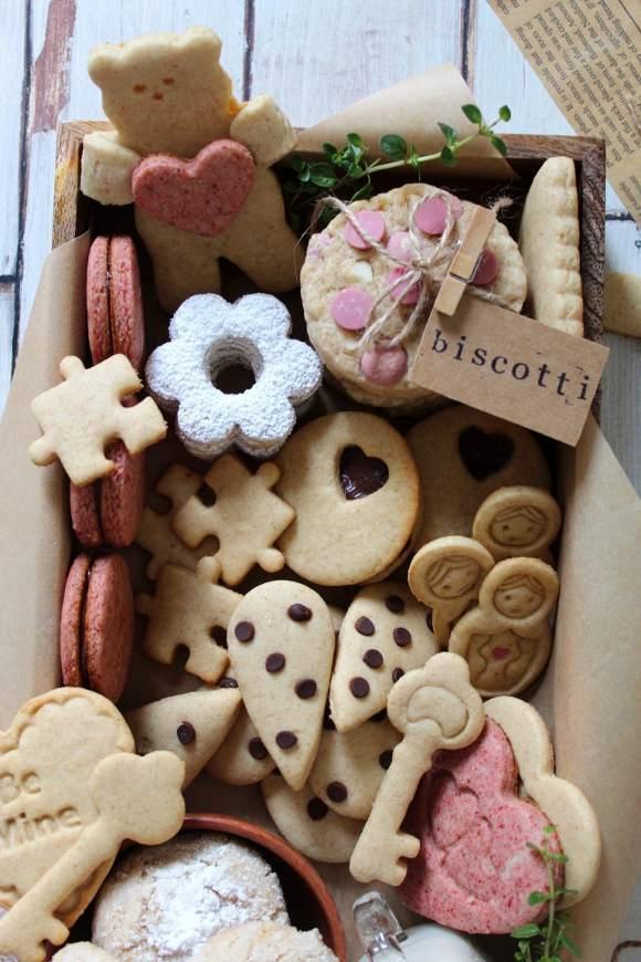 Scatola di biscotti cookie box di San Valentino