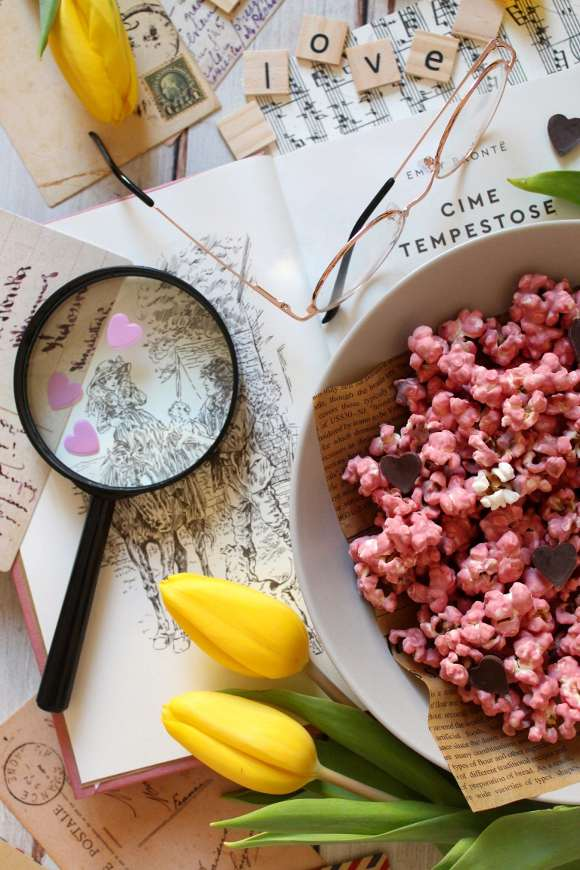 snack Popcorn al cioccolato ruby