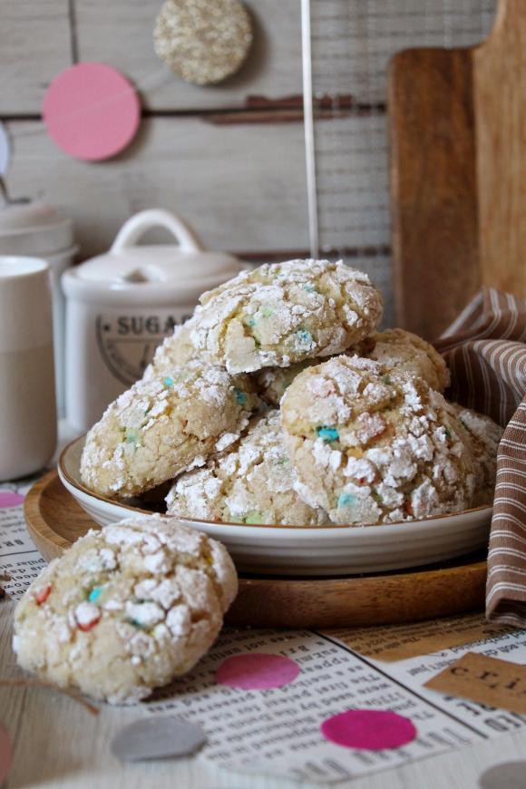 Biscotti funfetti Crinkles