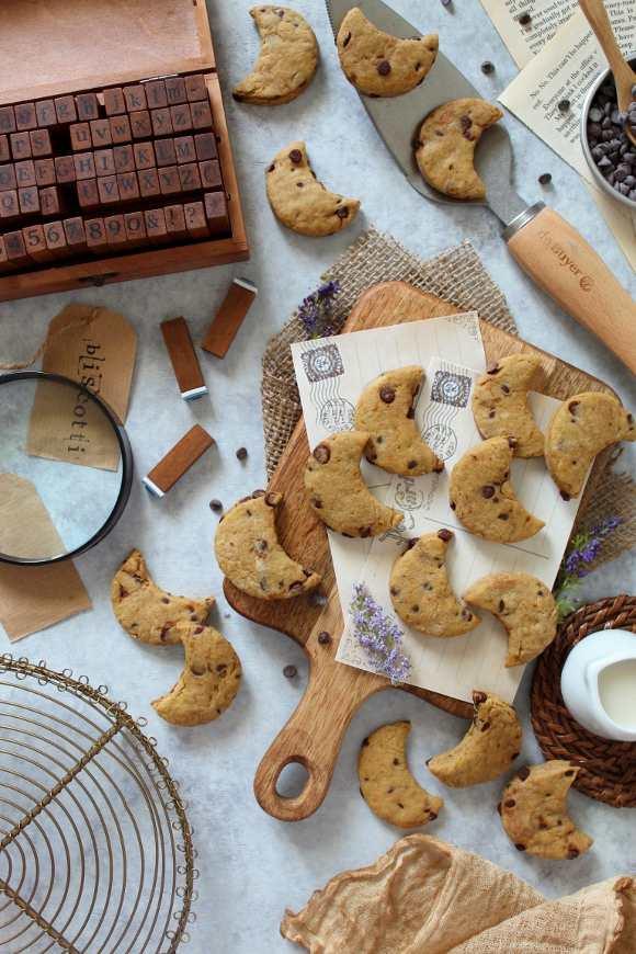 Biscotti con gocce di cioccolato simil mulino bianco bio