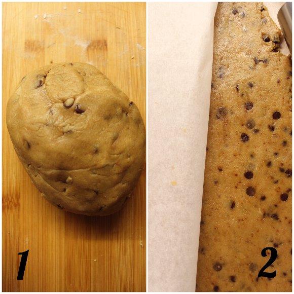 Biscotti con gocce di cioccolato simil mulino bianco bio fatti in casa senza burro procedimento