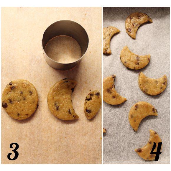 procedimento Biscotti con gocce di cioccolato simil mulino bianco bio fatti in casa senza burro