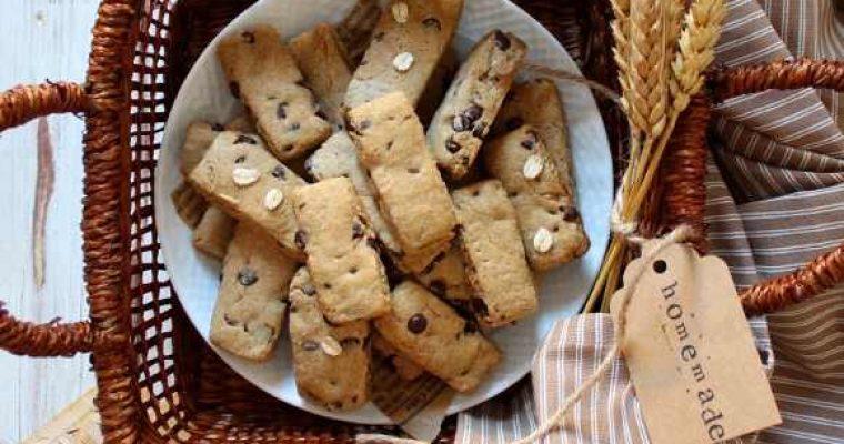 Biscotti simil fattiincasa Di Leo avena e orzo con gocce di cioccolato vegani