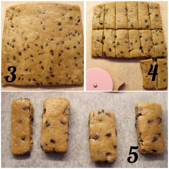 Biscotti simil fattiincasa Di Leo avena e orzo con gocce di cioccolato vegani procedimento