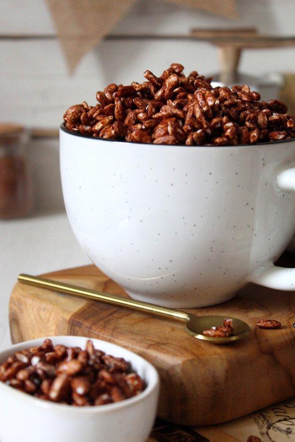 Cereali coco pops al cacao con nesquik fatti in casa