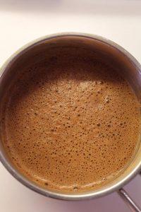 Latte alle carote speziato senza lattosio procedimento