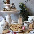 Biscotti al tè nero zenzero e limone senza uova senza burro