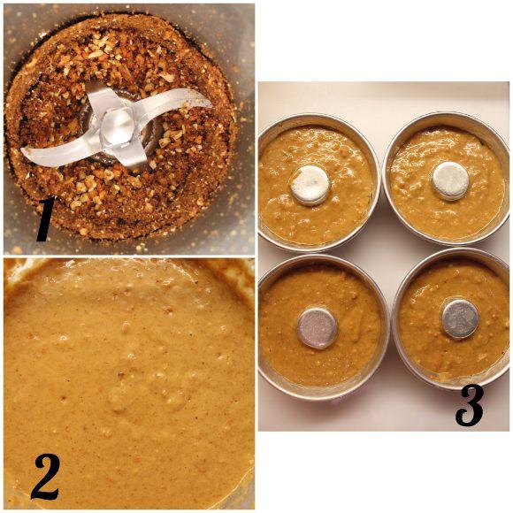 Ciambelle a forma di coniglietto alle carote e yogurt greco senza uova procedimento