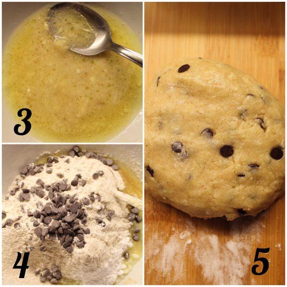 Cereali tipo cookie banana senza uova senza burro