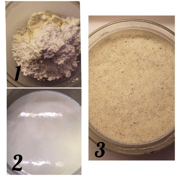 Hot milk sponge cake: Plumcake al latte caldo con burro di anacardi e yogurt greco senza uova preparazione