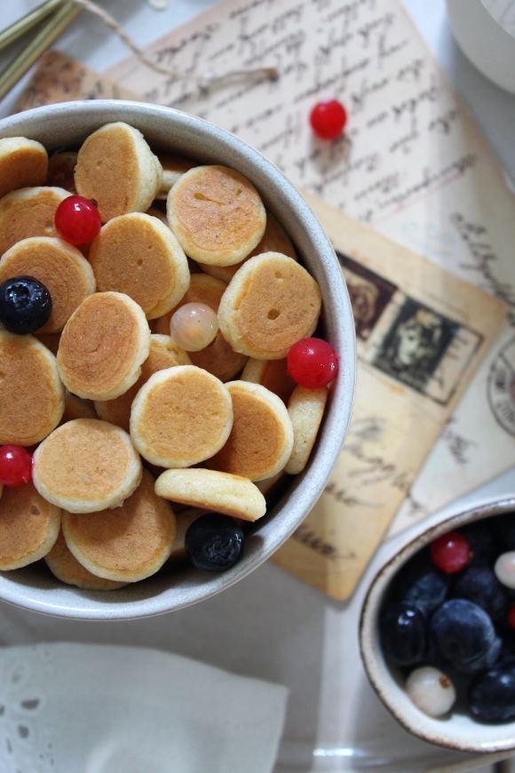 pancake a forma di cereali senza uova