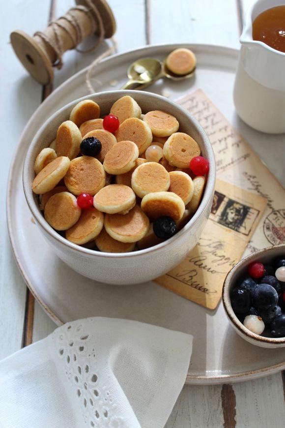 Pancake cereal: pancake a forma di cereali