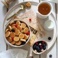 Pancake cereal: pancake a forma di cereali senza uova senza lattosio