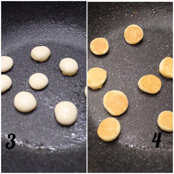 Pancake cereal: pancake a forma di cereali senza uova senza lattosio procedimento