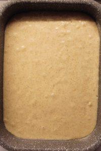 cottura Torta sheet cake al limone e mandorle con panna e fragole senza uova senza burro