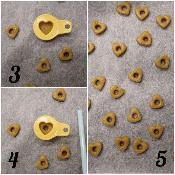 procedimento Cereali ciambelline a forma di cuore fatti in casa