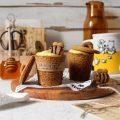 Cookie cups con crema al miele Winnie The Pooh senza uova senza lattosio