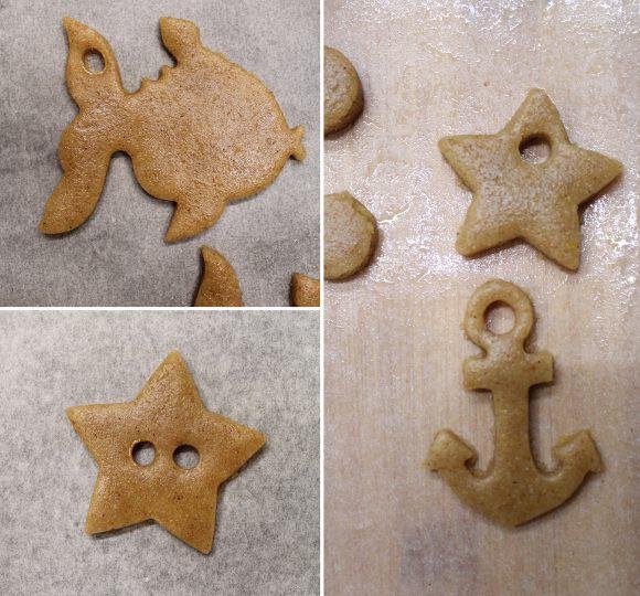 Ghirlanda estiva di biscotti allo sciroppo d'acero vegana procedimento