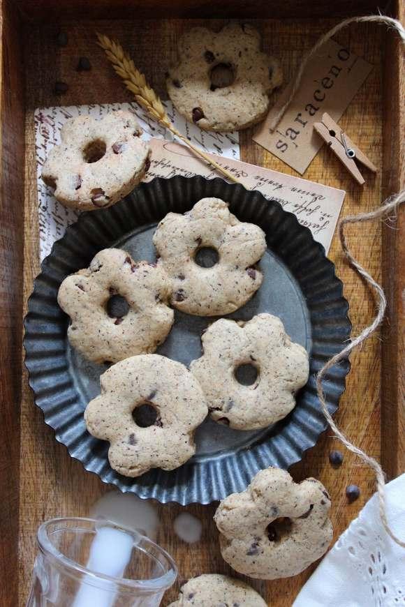 Biscotti simil saracene vegani homemade