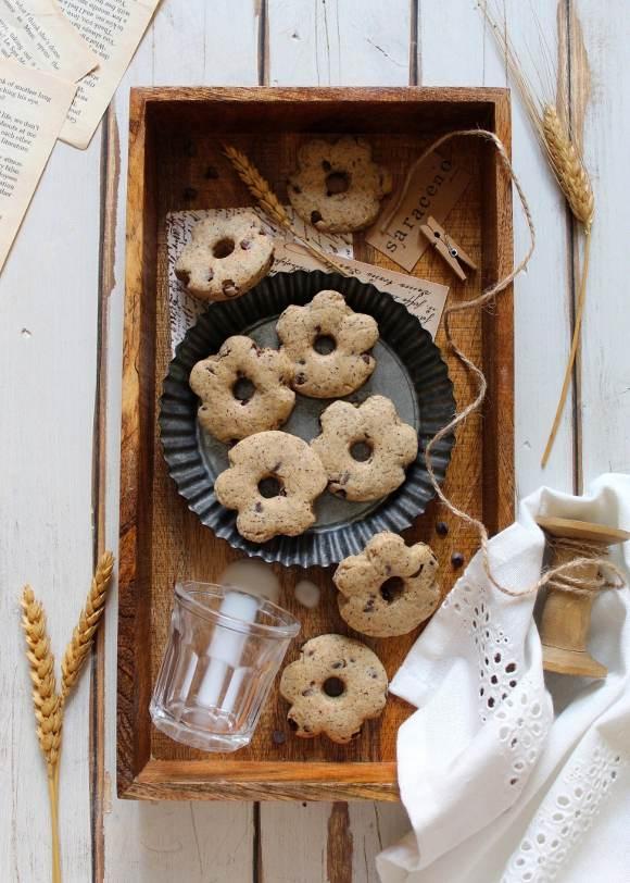 Biscotti al grano saraceno simil saracene balocco vegani fatti in casa