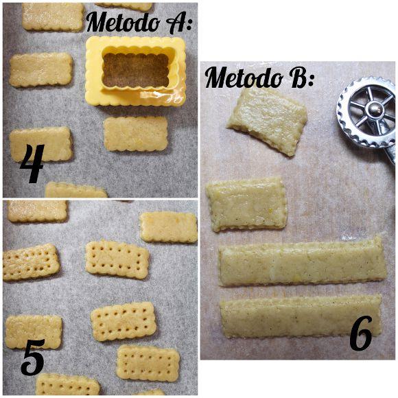 Cereali vaniglia e cacao a forma di frollini all'acqua senza uova senza burro procedimento