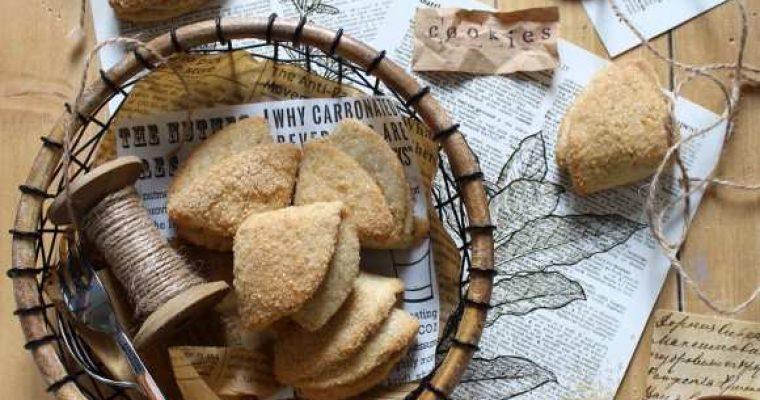 Farmer's Cheese Cookies Biscotti alla ricotta senza uova senza burro
