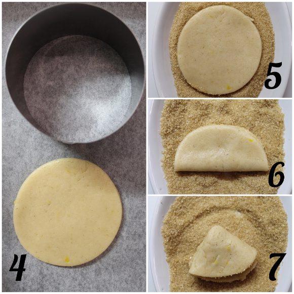 procedimento Farmer's Cheese Cookies Biscotti alla ricotta senza uova senza burro