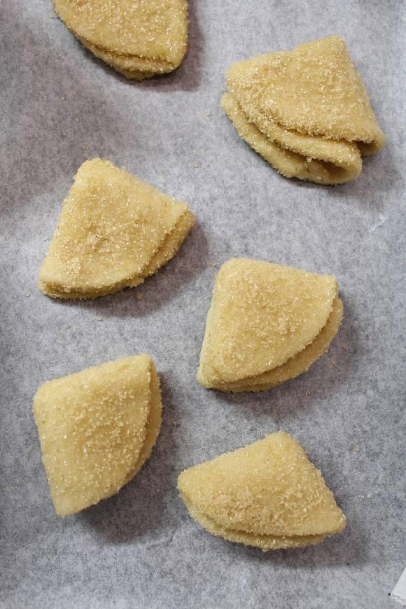 cottura Farmer's Cheese Cookies Biscotti alla ricotta senza uova senza burro
