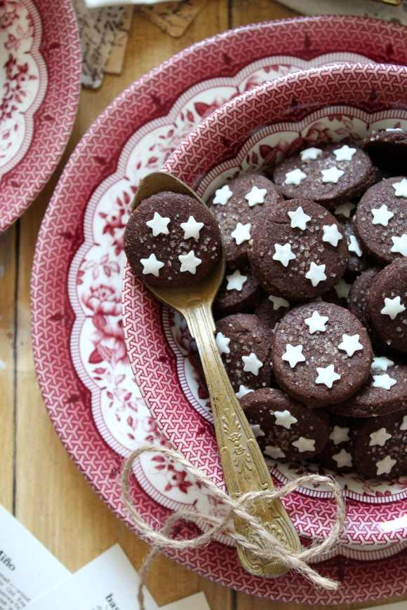 Cereali biscotto simil Pan di stelle al cacao