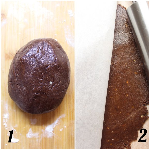 preparazione Cereali biscotto simil Pan di stelle fatti in casa