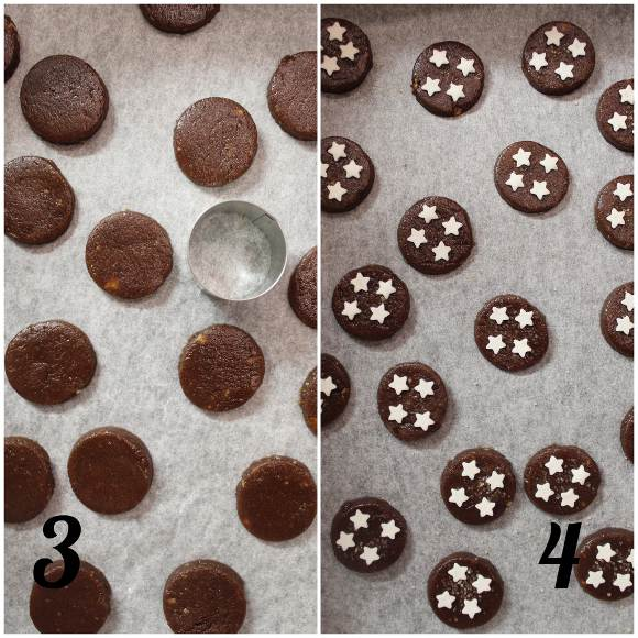 procedimento Cereali biscotto simil Pan di stelle fatti in casa