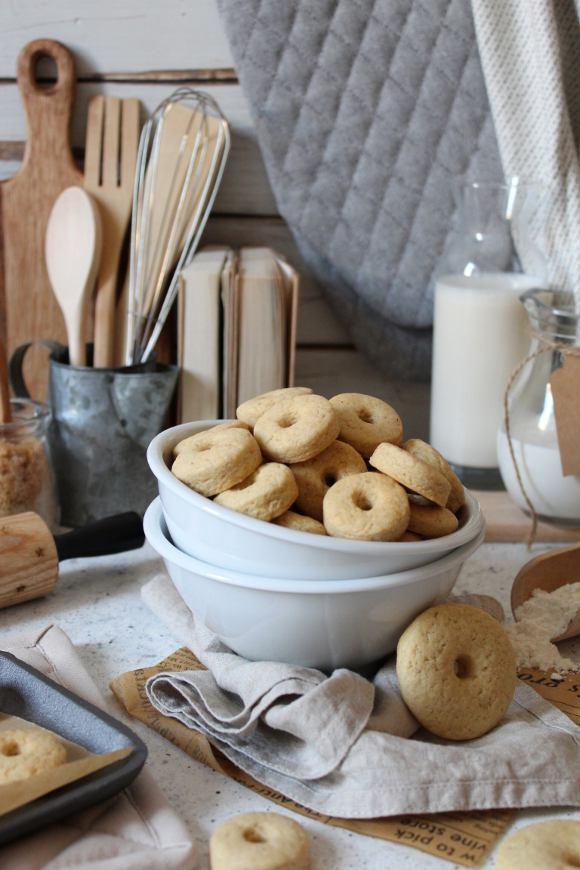 Cereali fatti in casa simil Macine con panna vegetale senza uova senza burro