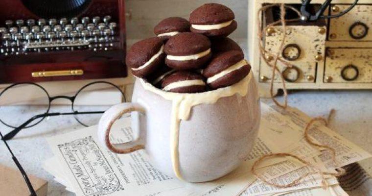 Cereali Whoopie pie al cacao senza uova senza burro