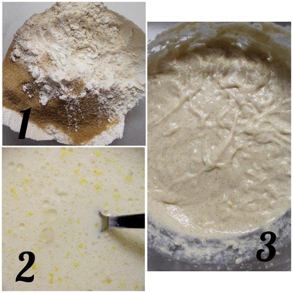 procedimento Tortine allo yogurt a forma di cornetto senza uova