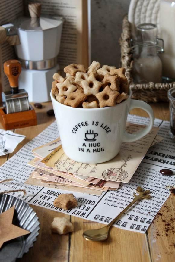 Cereali caffè latte a forma di stelle senza uova