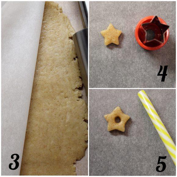 procedimento Cereali caffè latte vegetale a forma di stelle senza uova