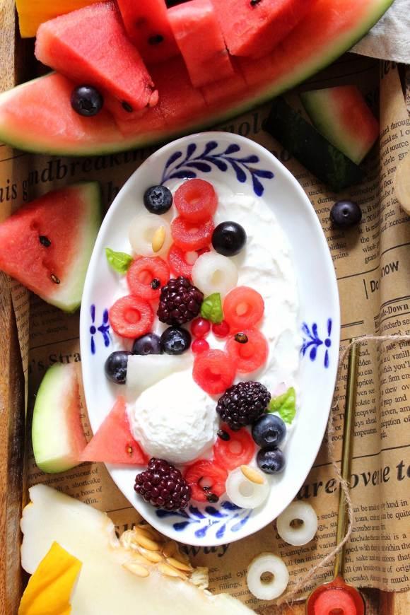 Ciambelline alla frutta formato cereale