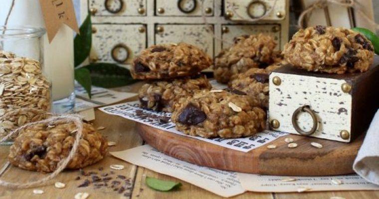 Oatmeal Cookies Biscotti fiocchi d'avena senza uova